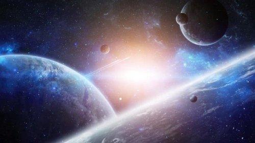 唯美粒子星空