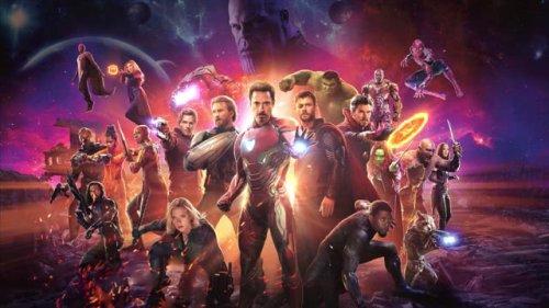 4K Avengers Infinity War