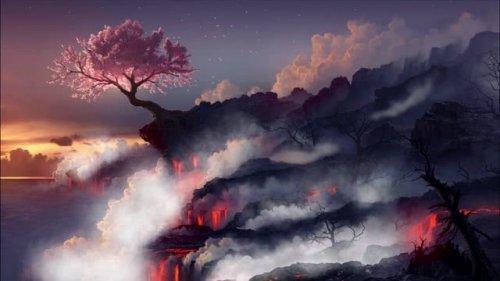 volcan fume