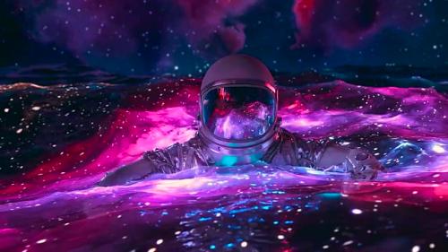 孤独的太空人